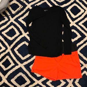 LOFT Maternity Shorts, Orange